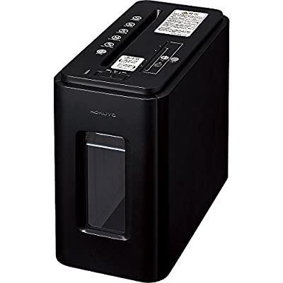 コクヨ シュレッダー 超静音 CD・カード細断可能 ブラック AMKPS-MX100D
