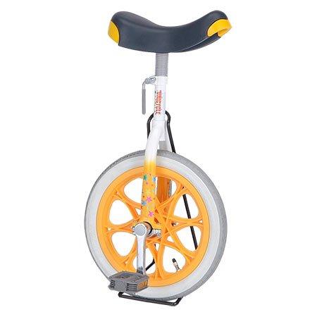 子供用 一輪車 16インチ 4905 [オレンジ]