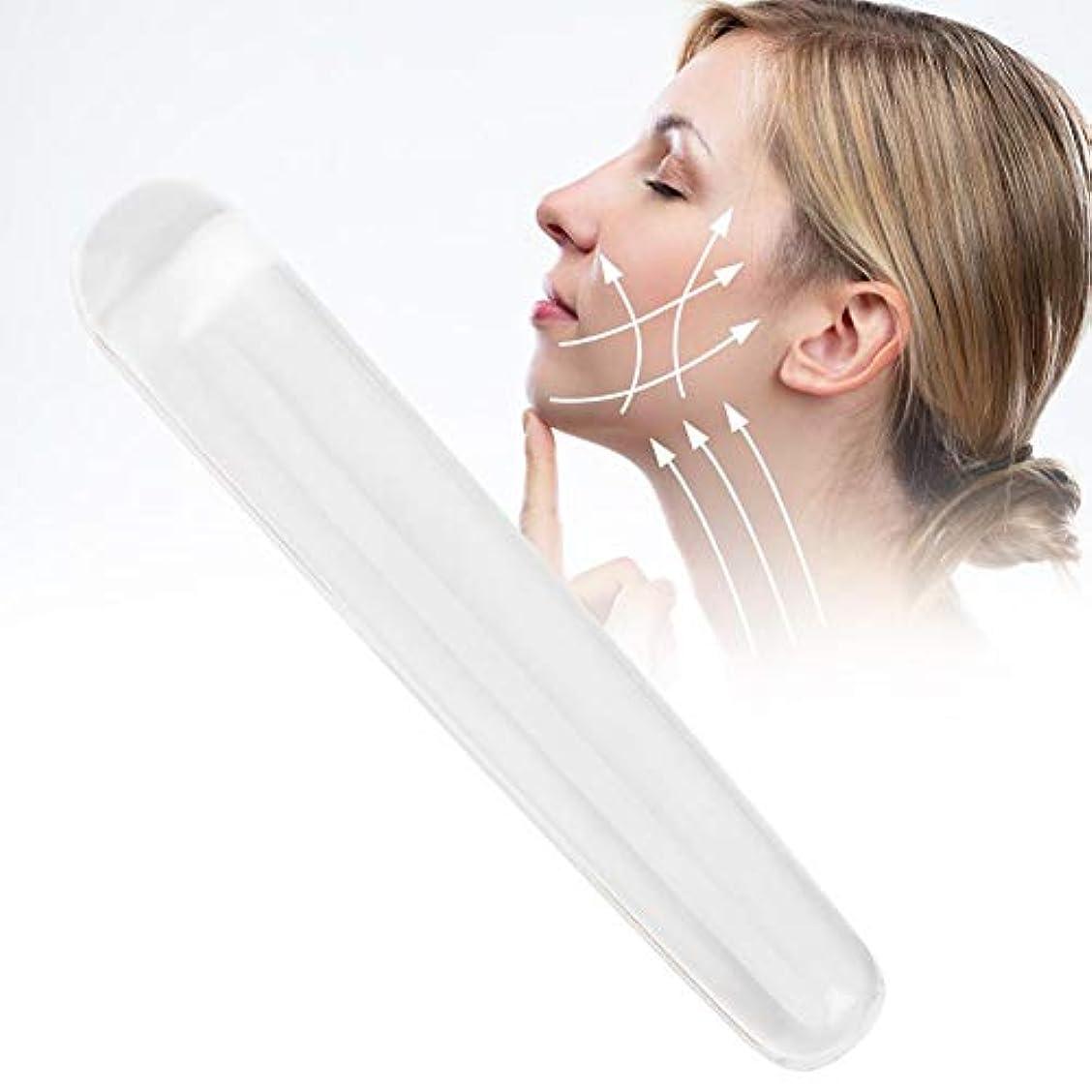 肺乳製品ドレインスクレーピングマッサージツール、リリースツール用クリスタルマッサージワンド、リリースショルダー、脚と体の痛み(#2)