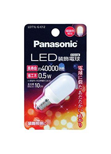 パナソニック LED電球 口金直径12mm 電球色相当(0....