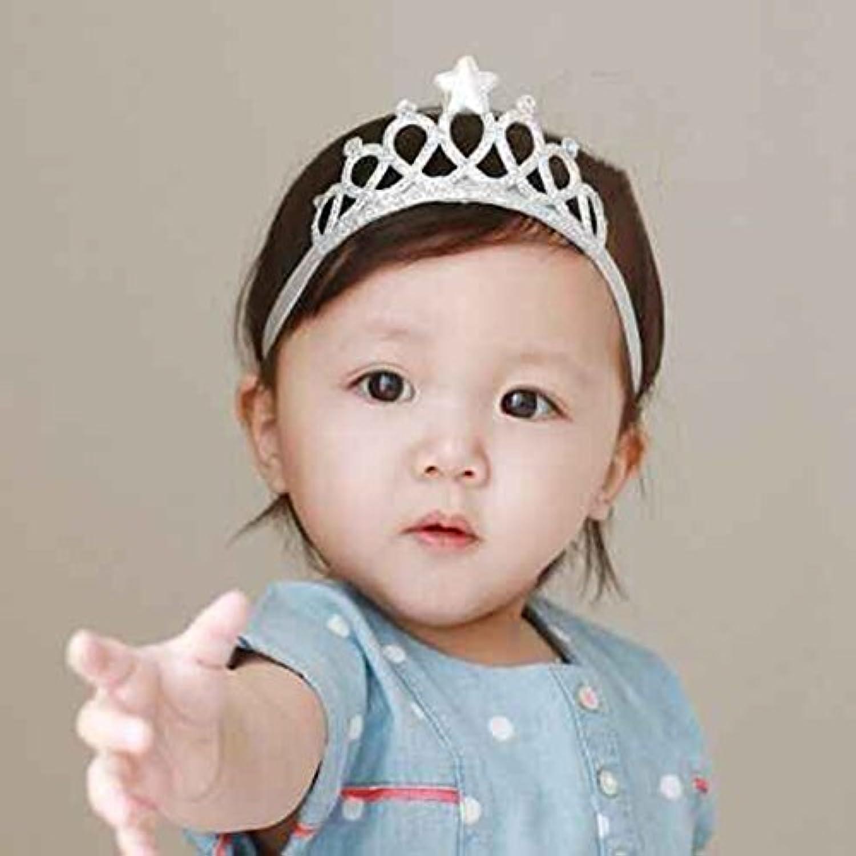 LuxBene(TM)の女の赤ちゃんのヘアアクセサリーヘアリボンバンドプリンセスクラウンヘッドバンドキッド幼児カチューシャ