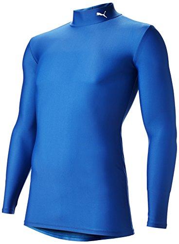 (プーマ)PUMA サッカー コンプレッション モックネック長袖シャツ 920480 [メンズ] 04 チームロイヤル/ホワイト L