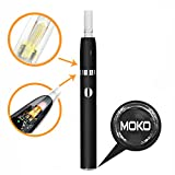 iQos アイコス 互換品 電子タバコ 650mahバッテリー タバコカートリッジを使用可能 (黒)