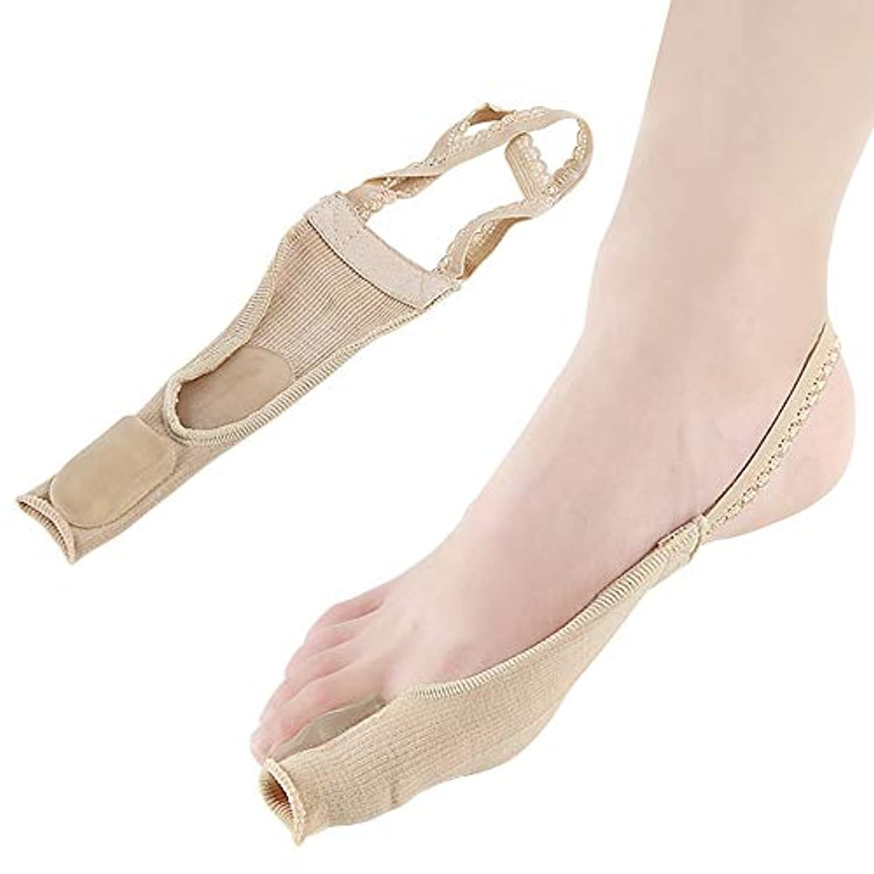 リーフレット違反読者つま先矯正靴下ワンサイズレース防止つま先外反重複高弾性厚み減衰吸収汗通気性ナイロンSEBS,2Pairs