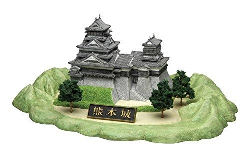 フジミ 名城シリーズ 1/ 700 熊本城  城1 プラモデル B
