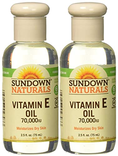 Sundown Naturals ビタミンEオイル7万のIu - 2.5オズ、2パック 2.5オンス(2パック)