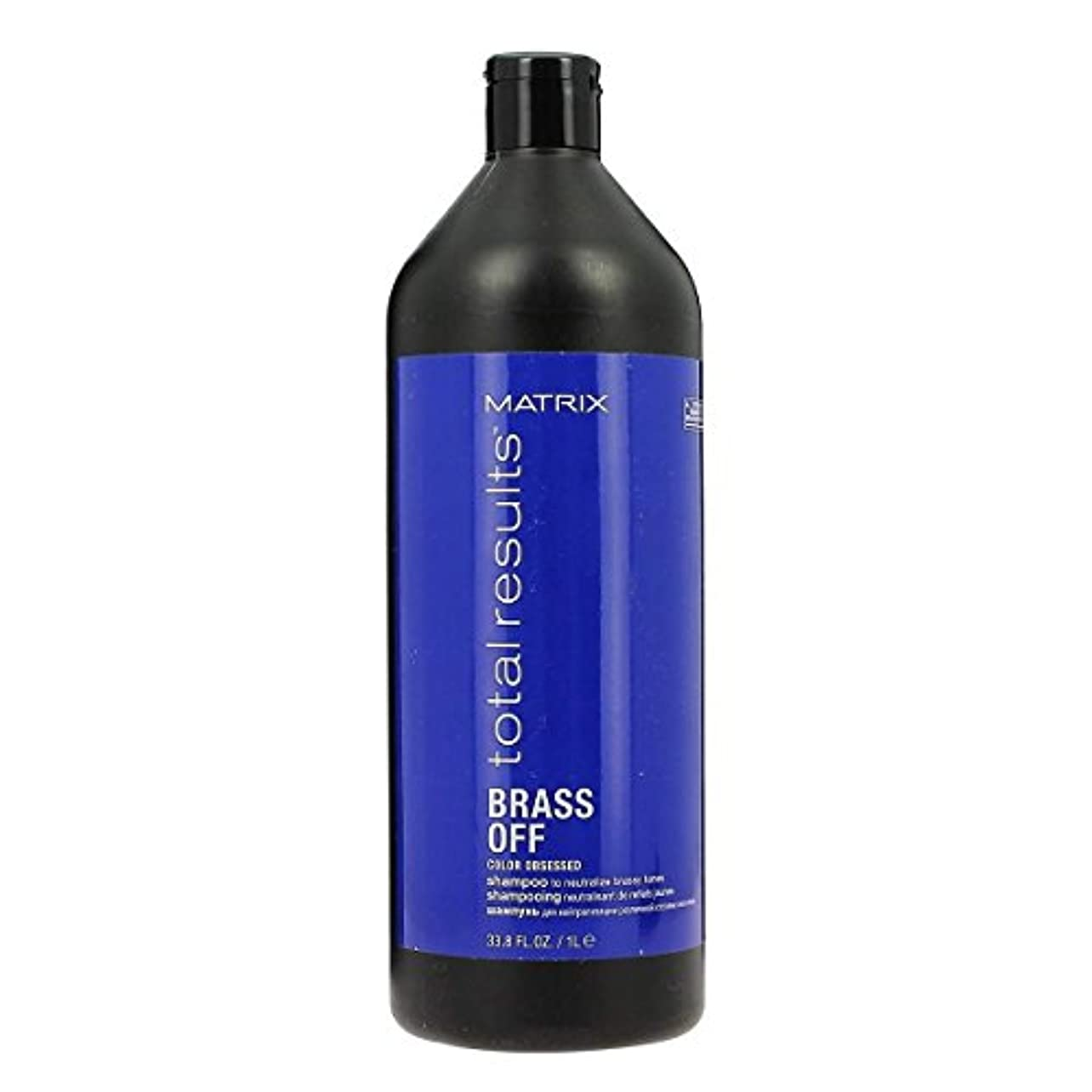 マトリックス Total Results Brass Off Color Obsessed Shampoo 1000ml/33.8oz並行輸入品