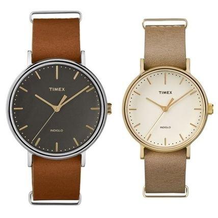 [タイメックス]TIMEX メンズ レディース ペアウォッチ ウィークエンダー フェアフィールド 41mm×37mm TW2P97900TW2P98400 腕時計 [正規輸入品]