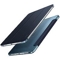 iPad Pro 11 ケース apple pencil 2代対応 Infiland iPad Pro 11 (2018新型)三つ折スタンドカバー キズ防止 軽量 薄型 オートスリープ機能 スマートカバー 2018年発売の 新しいiPad Pro 11インチ 対応 半透明カバー ワイヤレス充電