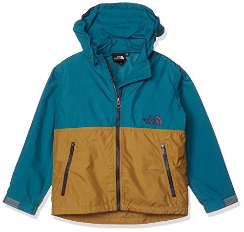 [ザ・ノース・フェイス] ジャケット コンパクトジャケット キッズ NPJ21810 ブルーコーラル×ブリティッシュカーキ 日本 110 (日本サイズ110 相当)