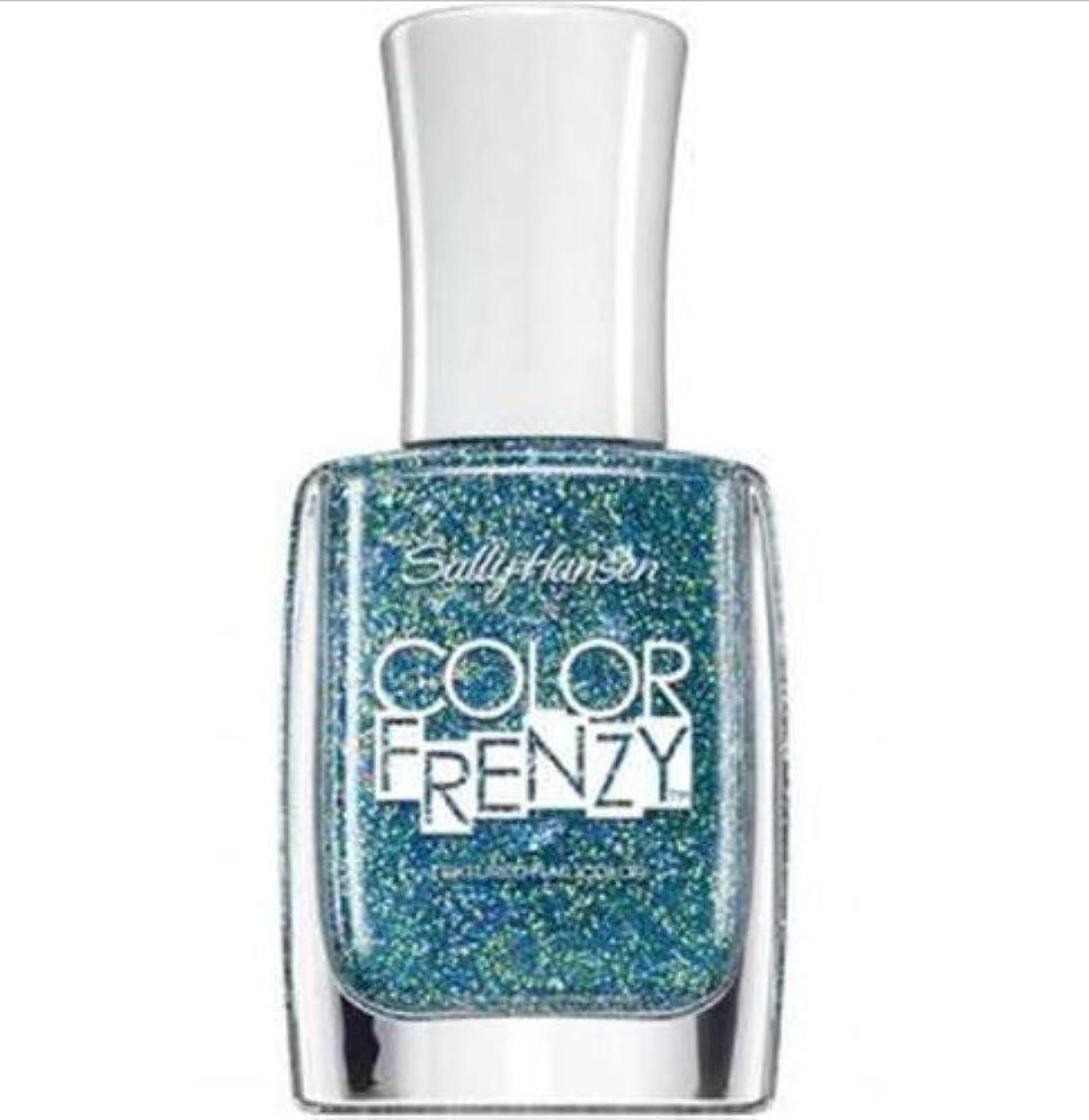 トーン感心する輝度SALLY HANSEN Color Frenzy Textured Nail Color - Sea Salt (並行輸入品)