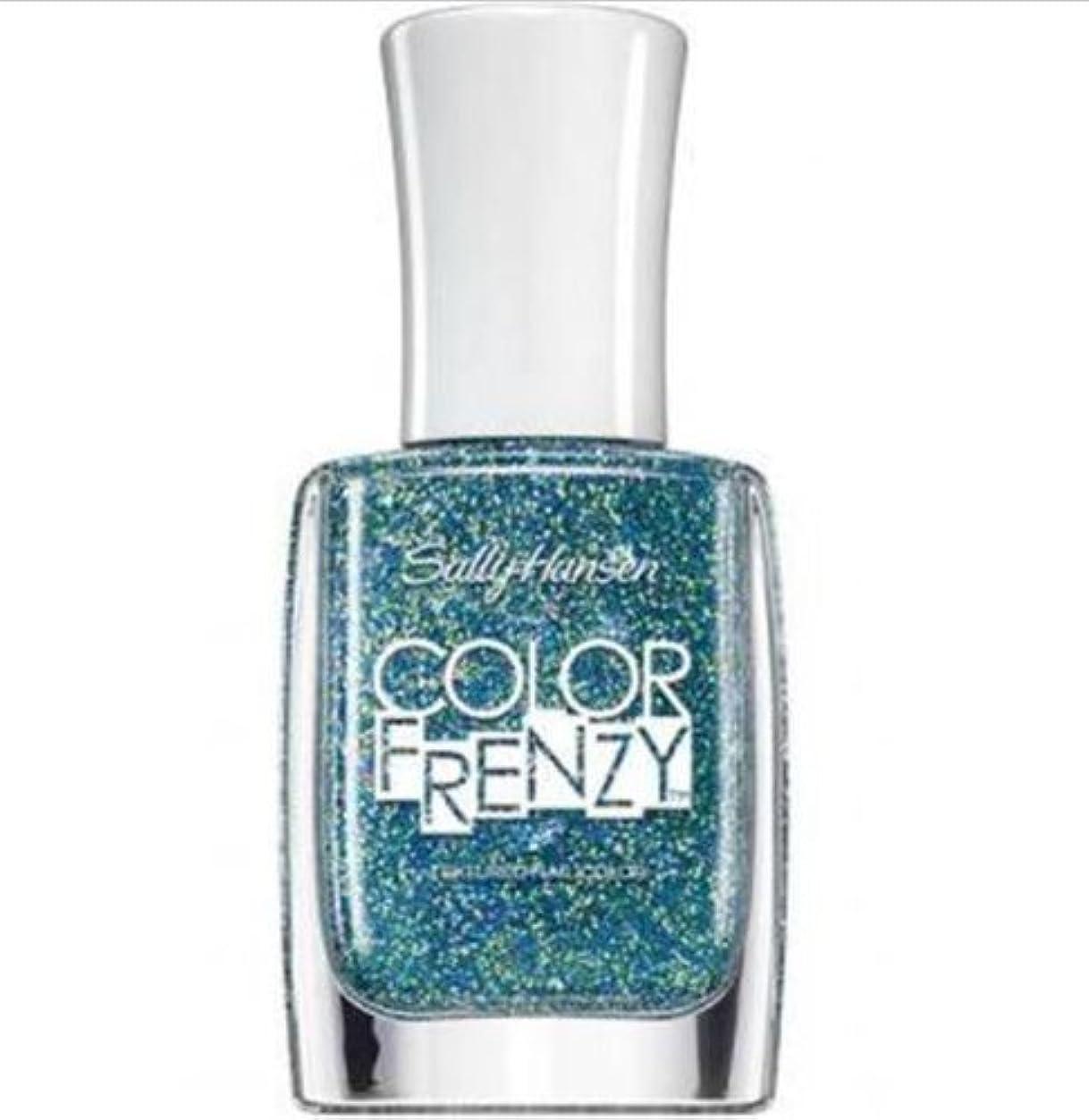 推進スパークまっすぐにするSALLY HANSEN Color Frenzy Textured Nail Color - Sea Salt (並行輸入品)