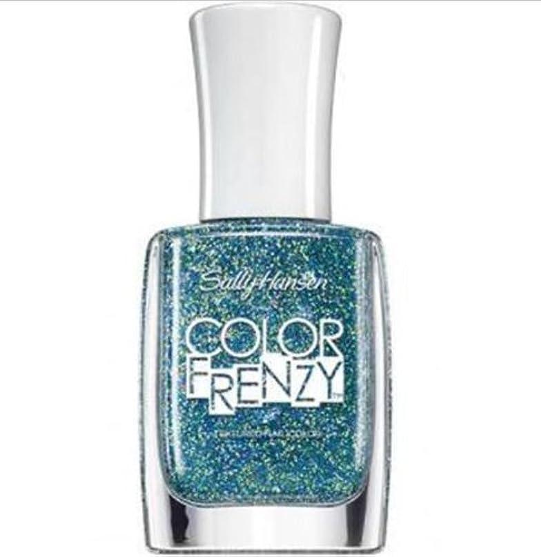 更新アミューズメント脚SALLY HANSEN Color Frenzy Textured Nail Color - Sea Salt (並行輸入品)