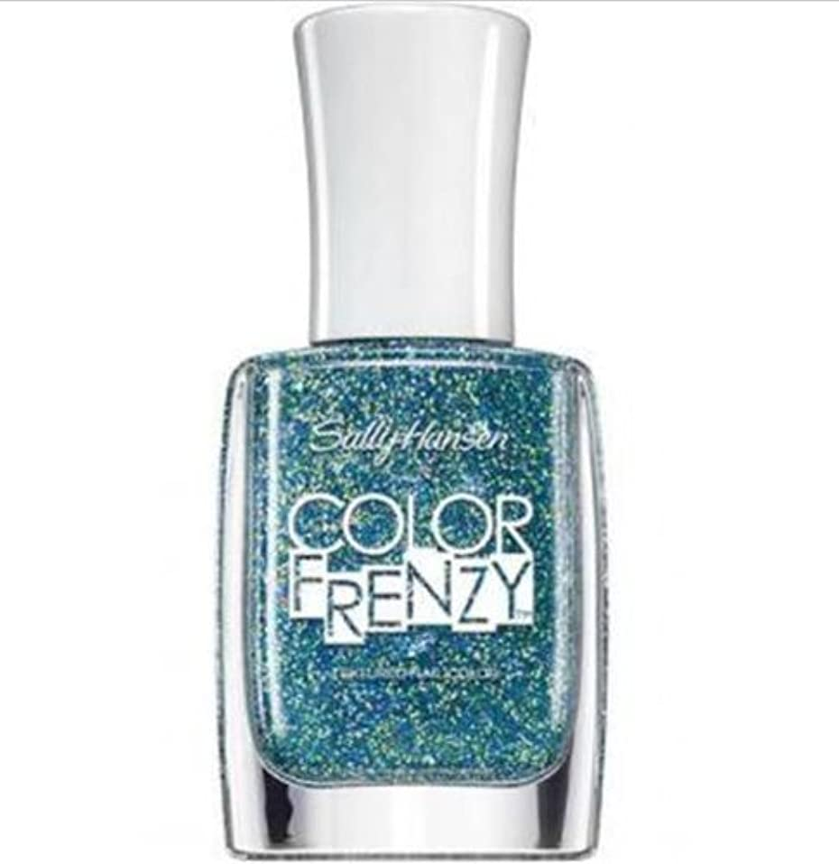 聴くピッチャーシステムSALLY HANSEN Color Frenzy Textured Nail Color - Sea Salt (並行輸入品)