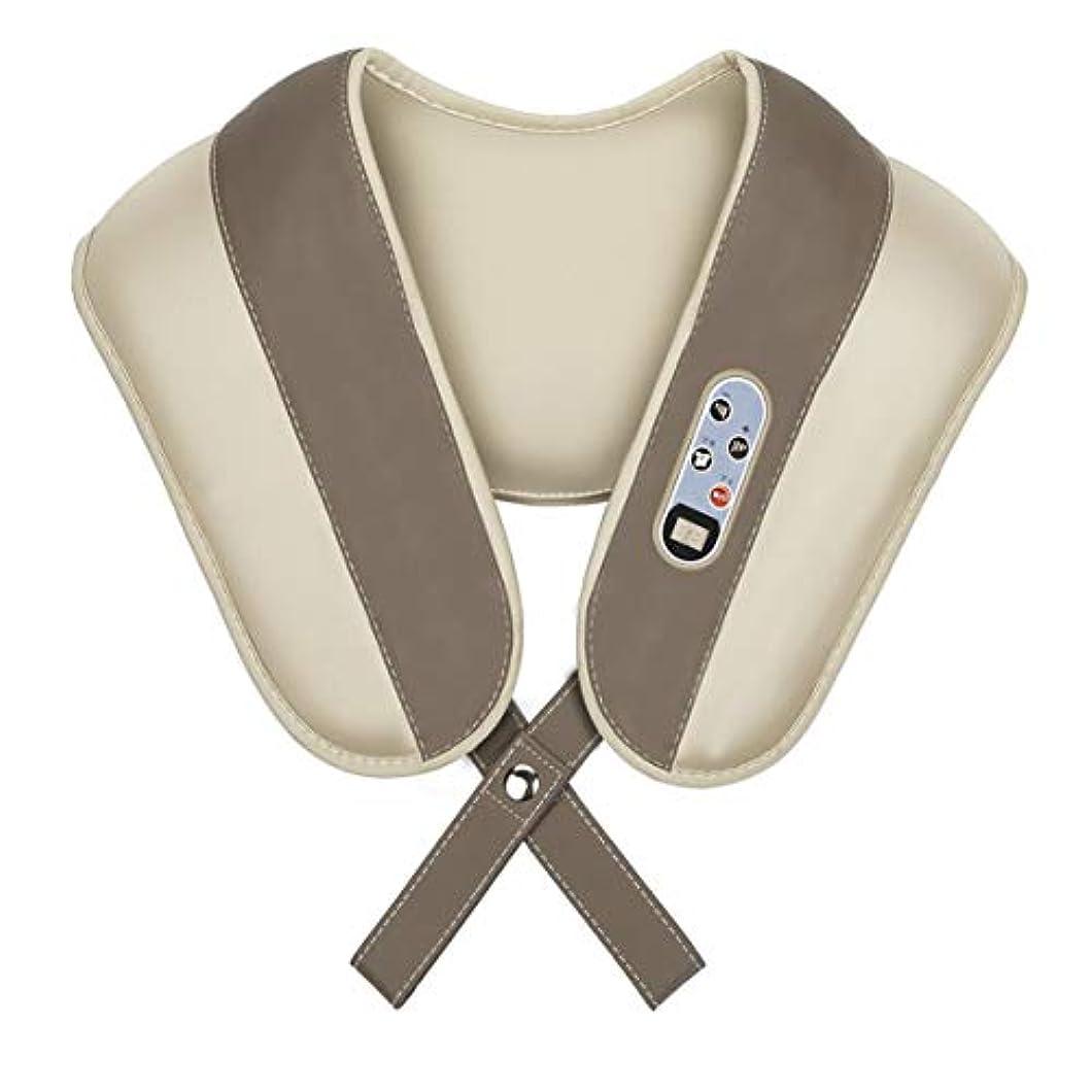 金属昇進クラッシュIntercorey多機能頸椎マッサージャーホーム電気ギフト肩と首Beatられたマッサージショール