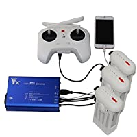 Power yes インテリジェントバッテリ充電器XIAOMI MI Drone用の複数バッテリ高速充電器 XIAOMI