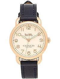 [コーチ] 腕時計 レディース COACH 14502749 ネイビー ホワイト イエローゴールド [並行輸入品]