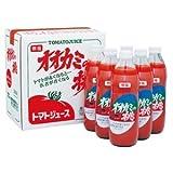 ホクレン オオカミの桃(無塩トマトジュース) 1L×6本