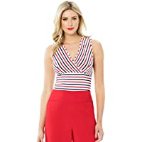 Review Women's Mariner Stripe Top White/Multi