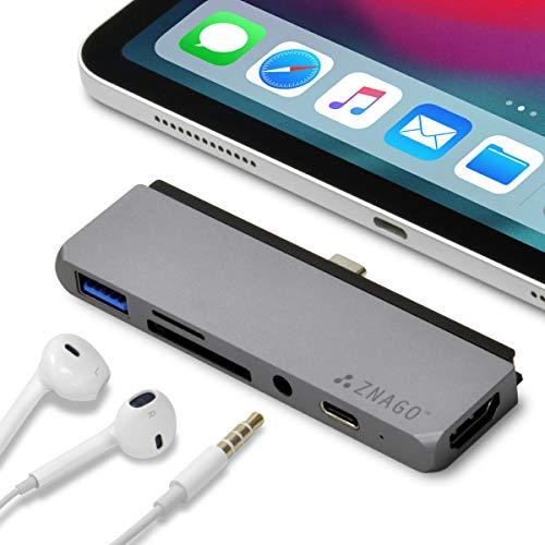 ZNAGO i(アイ) USB 3.1 Type-C 一体型マルチアダプター...