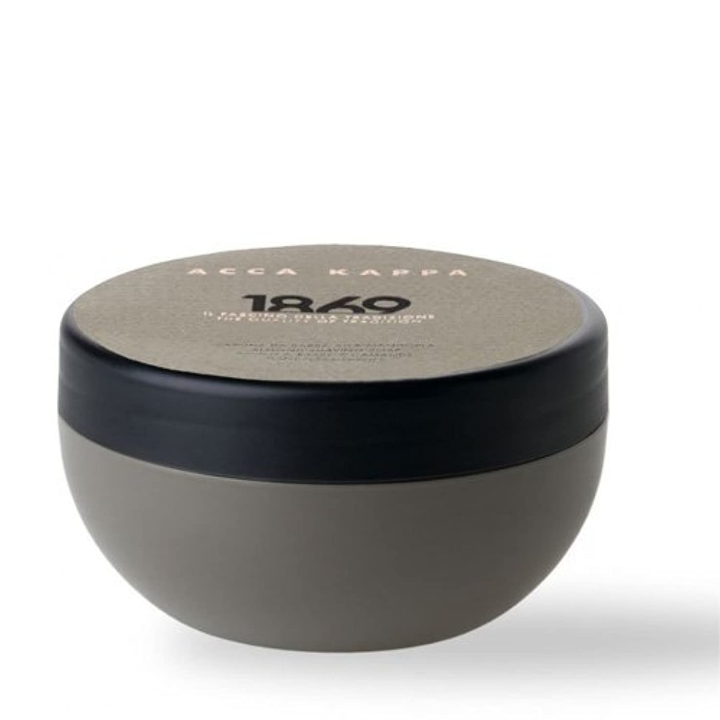 柔和パワーセル狂乱Acca Kappa 1869 Almond Shaving Soap in Bowl [並行輸入品]
