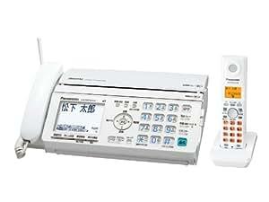パナソニック デジタルコードレスFAX 子機1台付き ホワイト KX-PW520DL-W