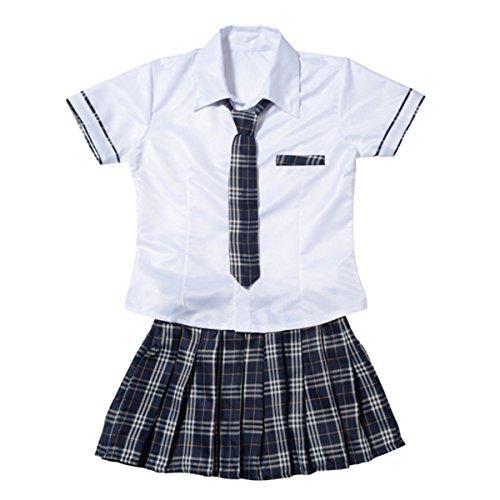 LZROL セーラー服 コスチューム レディース, セーラー服,タトゥーシールコスプレ 仮装 女子高...