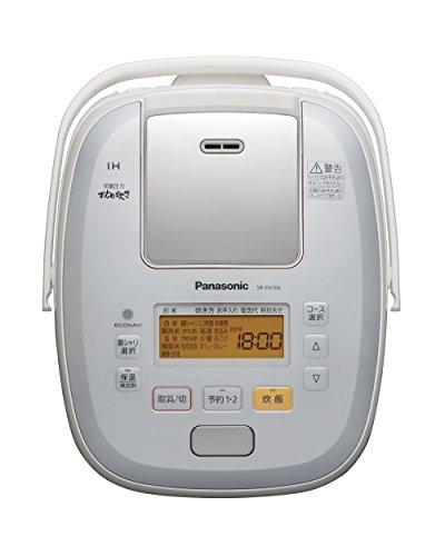 パナソニック5.5合炊飯器圧力IH式おどり炊きホワイトSR-PA106-W
