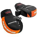 コミネ(Komine) バイク用ハンドルカバー ネオプレンハンドルウォーマー ブラック/オレンジ フリー 09-021 AK-021