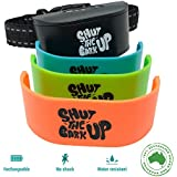 Bark Collar for Small to Medium Dogs - Non Shock Rechargeable Collar for Dogs, Water Resistant Bark Control Device, Pain-Free, Safe, Ultrasonic Vibration - Training Collar for Dog Barking Control and Behaviour