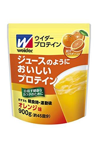 ウイダー ジュースのようにおいしいプロテインオレンジ味 900g