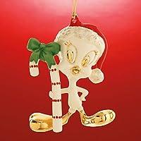Tweetyの杖のクリスマスオーナメントby Lenox