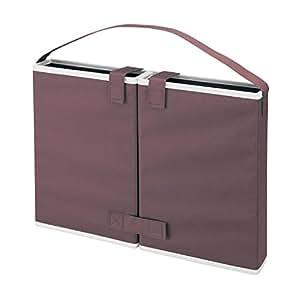 [ベルメゾン] どこでも自習室 自宅学習 収納ボックス 勉強スペース リビング 学習 収納ボックス 勉強 ブース 撥水加工 持ち運び ブラウン