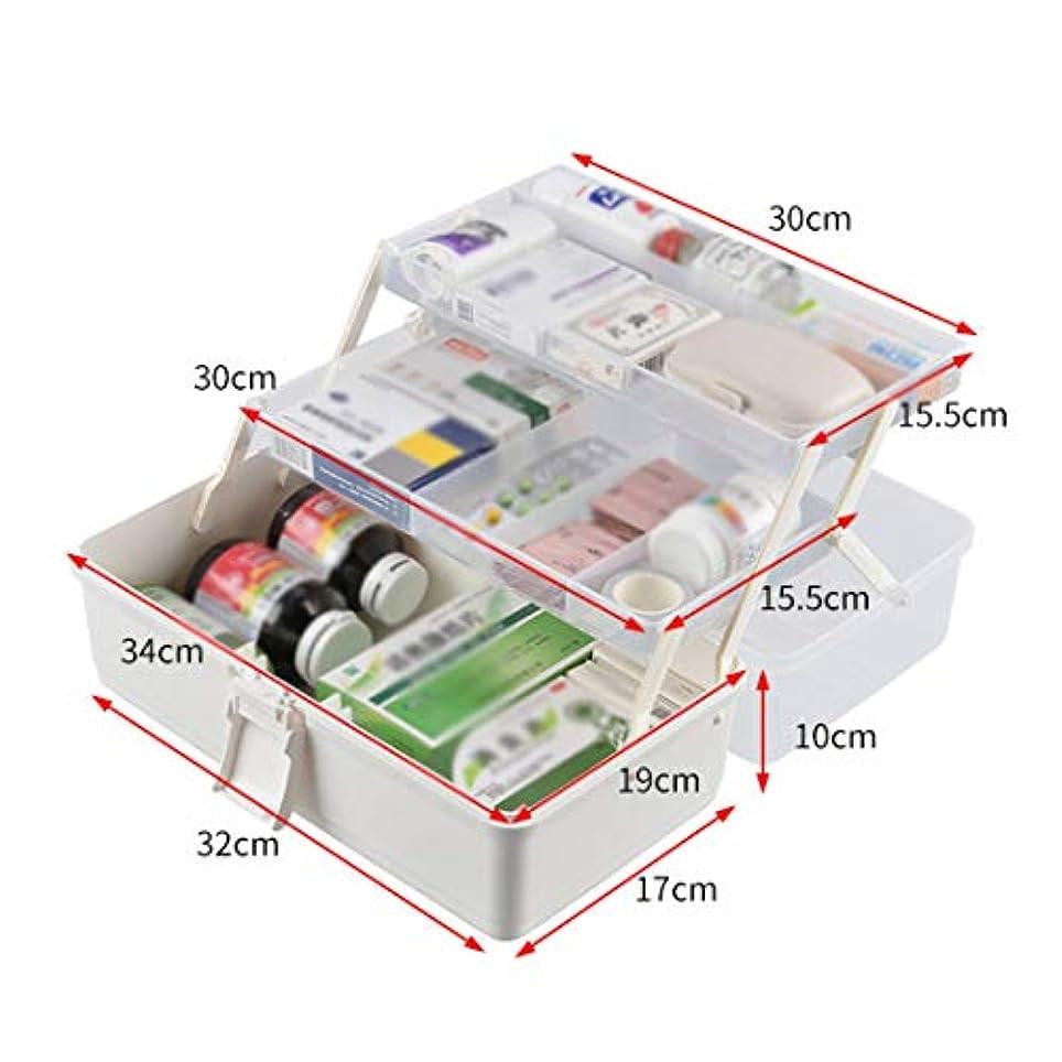 手分岐するカセット救急箱 薬箱 応急ボックス 携帯 大容量 シンプル 取っ手付き 緊急 防災 薬入れ 小物入れ 多機能 家庭用 応急処置 応急手当 医療箱 救急ケース ツールボックス ホワイト 3サイズ