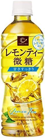 ポッカサッポロ カフェ・ド・クリエ レモンティー微糖 525ml ×24本