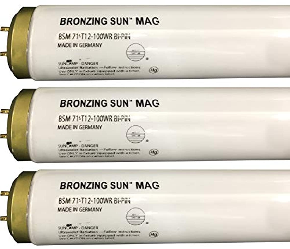 歯科医苗多用途Wolff Bronzing Sun Magnum fr71 Ho 100 W BiピンReflector Tanningランプ T12 27248