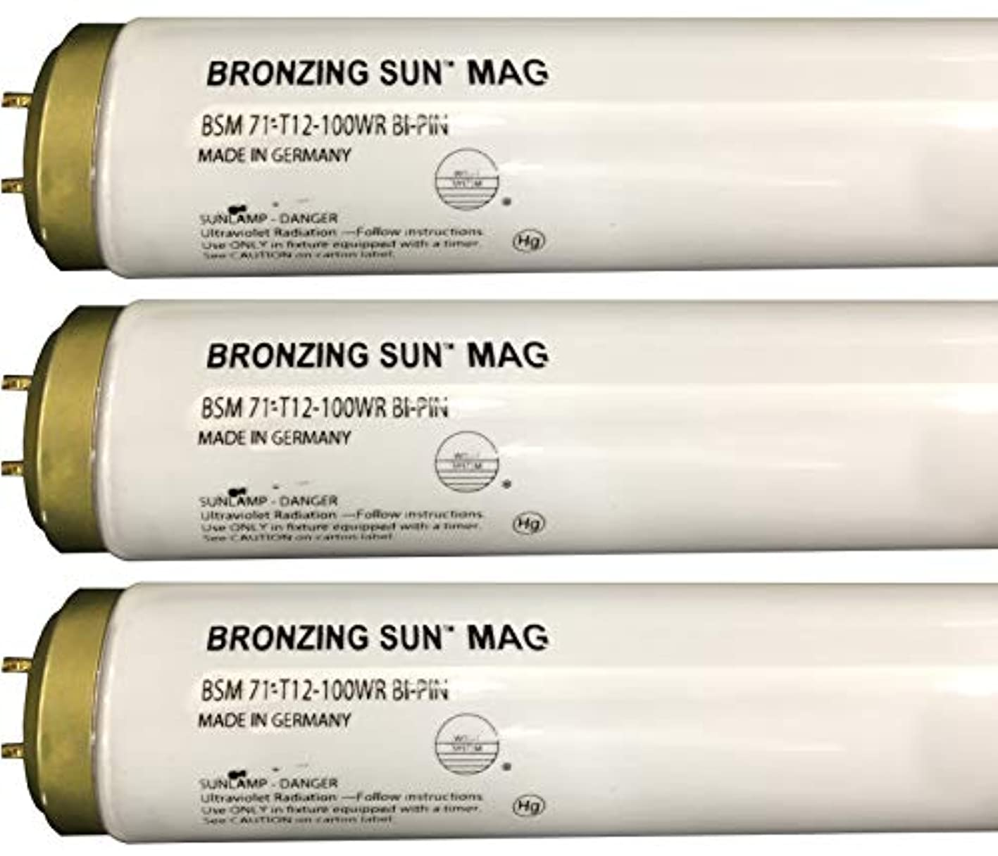 Wolff Bronzing Sun Magnum fr71 Ho 100 W BiピンReflector Tanningランプ T12 27248