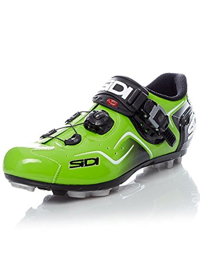 革命的ラウンジパンダSidiケープMTBサイクリング靴 – Green Fluo
