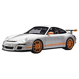 AUTOart 1/12 ポルシェ 911 (997) GT3 RS (シルバー・オレンジ)