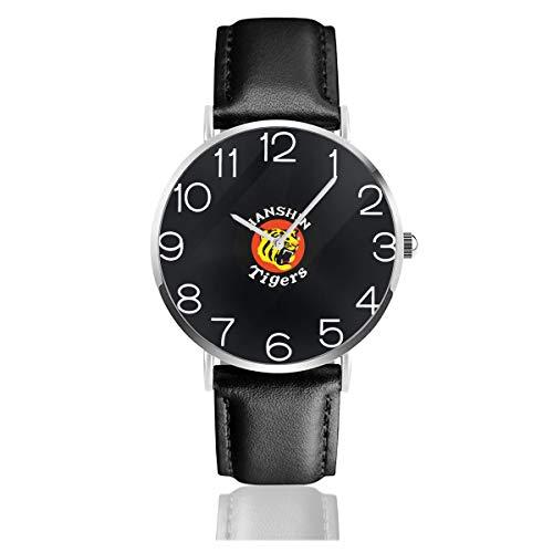 阪神タイガース 腕時計 メンズ レディース通用 母の日 父の日 プレゼント 超薄型 PU革 アナログ クォーツ時計 ミニマリスト 人気 ビジネス 防水 男女兼用