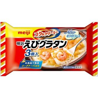 明治 えびグラタン3個入りX6袋 冷凍食品