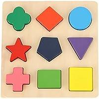 (ギバー&ムム) Gybber & MUMU 木製 プリスクールの形 パズル