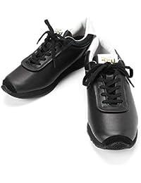 [アールエフダブリュー] レザー スニーカー ブラック KOPPE LO LEATHER R-1837012 ビブラムソール 日本製 メンズ