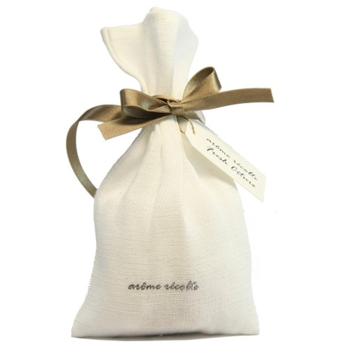 欲しいです学んだ振動するアロマレコルト ナチュラルサシェ(香り袋) フレッシュシトラス【Fresh Citurs】 arome rcolte