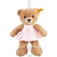 Steiff 20cm Sleep Well Bear Music Box (Pink) by Steiff