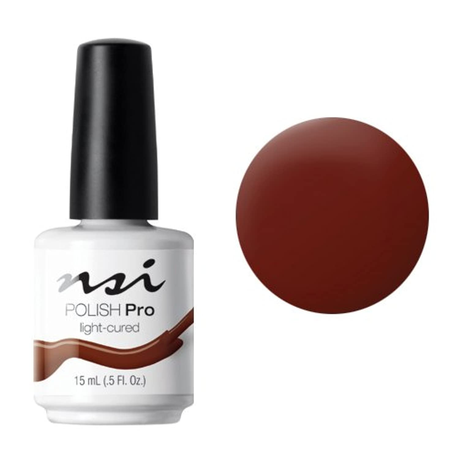 アクセント不快動作NSI Polish Pro Gel Polish - Mud Wrap - 0.5oz / 15ml
