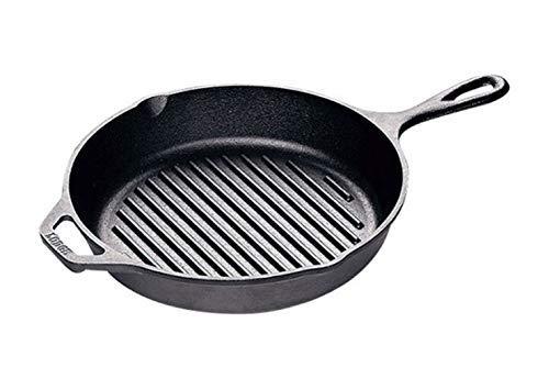 LODGE(ロッジ) ダッチオーブン スキレット ロジックグリルパン10 1/4インチ L8GP3