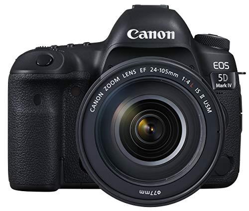 Canon キヤノン デジタル一眼レフカメラ EOS 5D MarkIV レンズキット EF24-105mm F4L IS II USM 付属 EOS5DMK4-24105IS2LK-A ブラック
