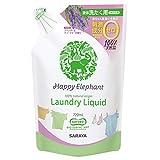 ハッピーエレファント 液体 洗たく用洗剤 詰替用 720ml