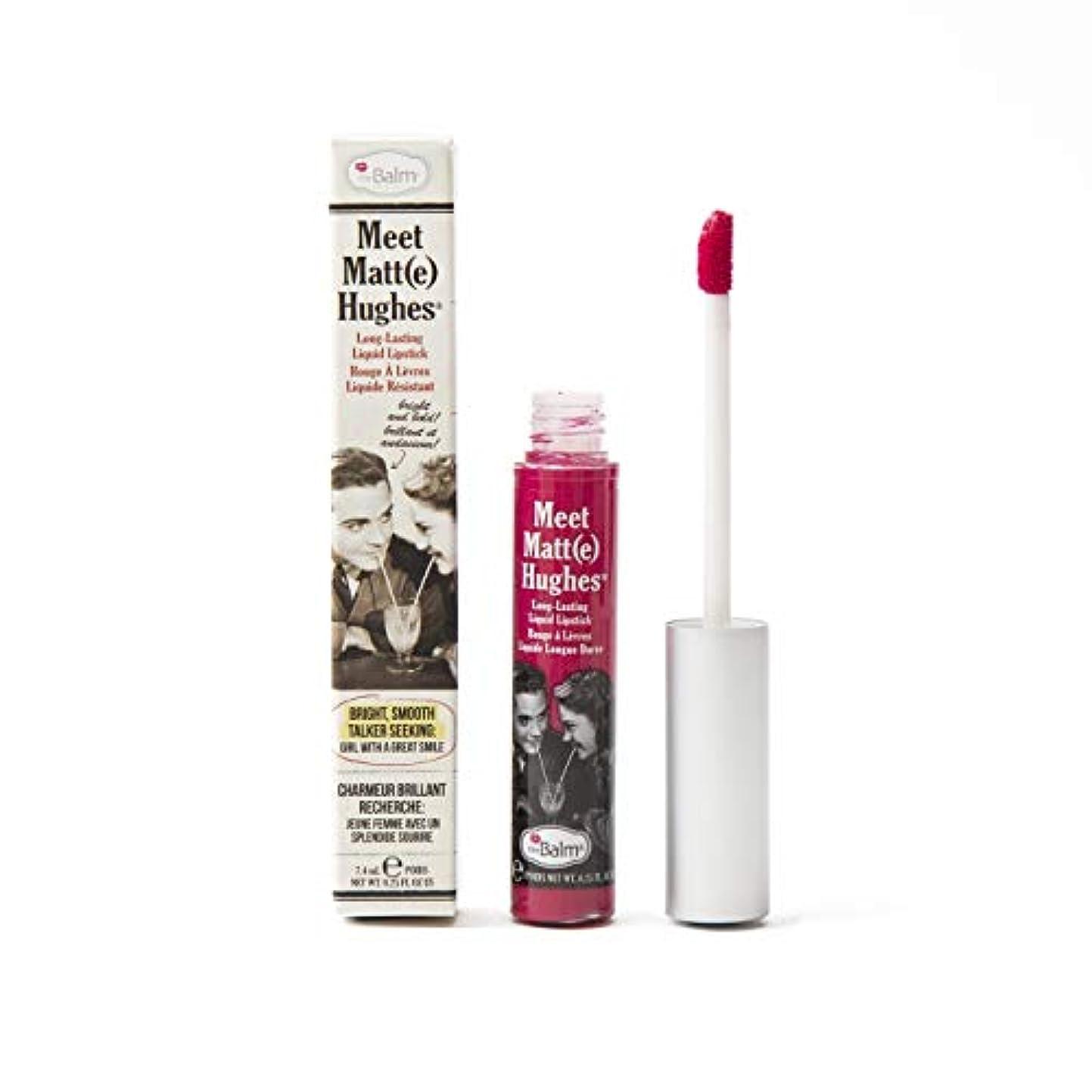 ポーチチャンピオンシップ結核ザバーム Meet Matte Hughes Long Lasting Liquid Lipstick - Sentimental 7.4ml/0.25oz並行輸入品